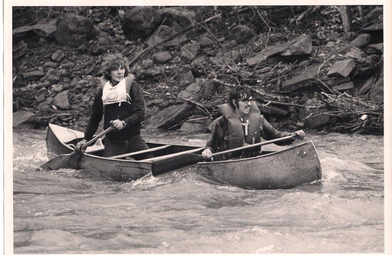 Tandem Aluminum Canoe