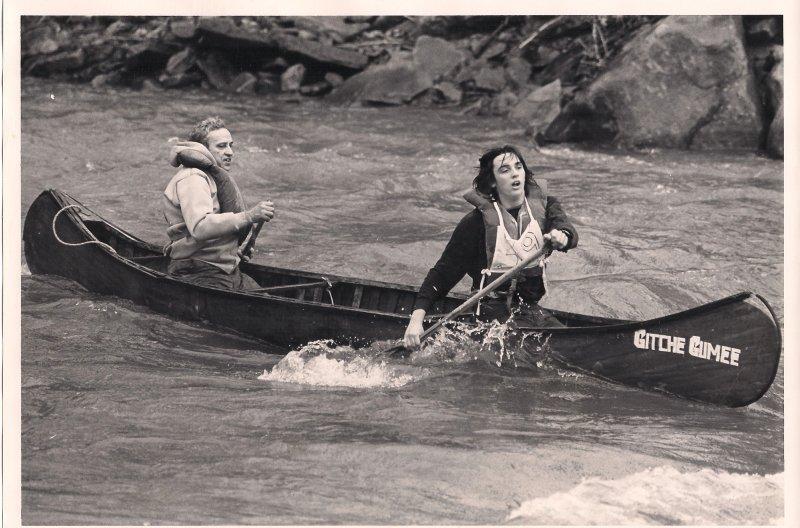Tandem Wood Canoe